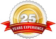 Over 25 Years Experience