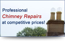 Professional chimney repairs