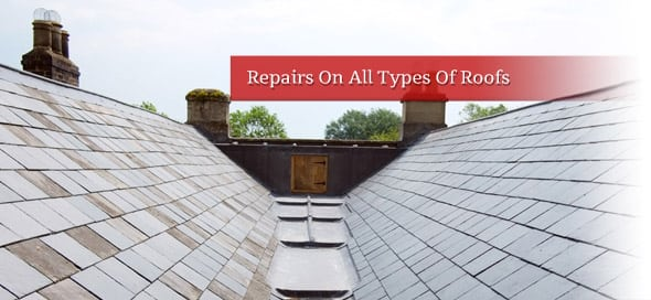 Roofing Repairs on all types of roofs
