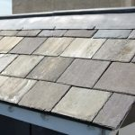 Large tiled roof